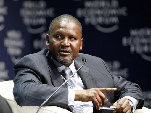 A net worth of $20 billion places Aliko Dangote among the 25